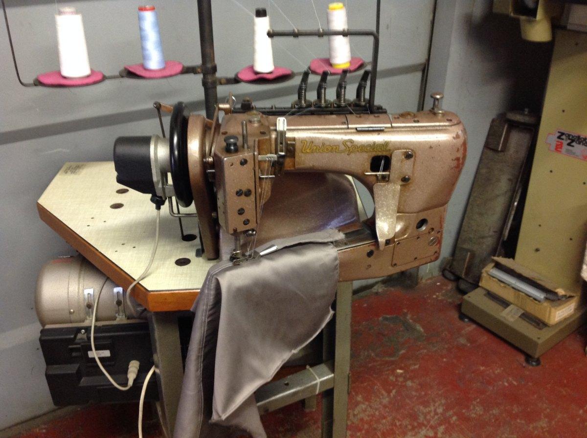 Usato union special macchina per cucire 2 aghi catenella for Prezzi macchine da cucire