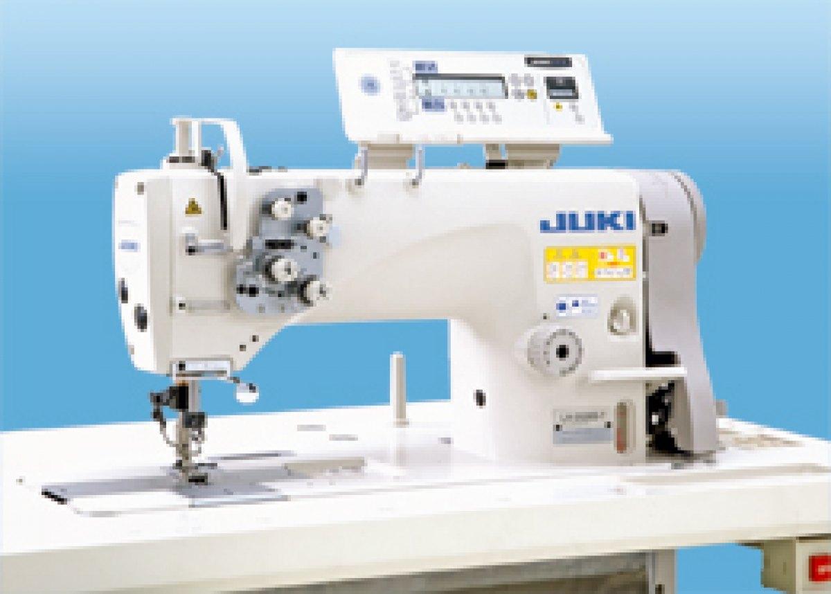 Juki macchina per cucire due aghi lh3578agf7wb ak135 for Macchina da cucire e ricamo
