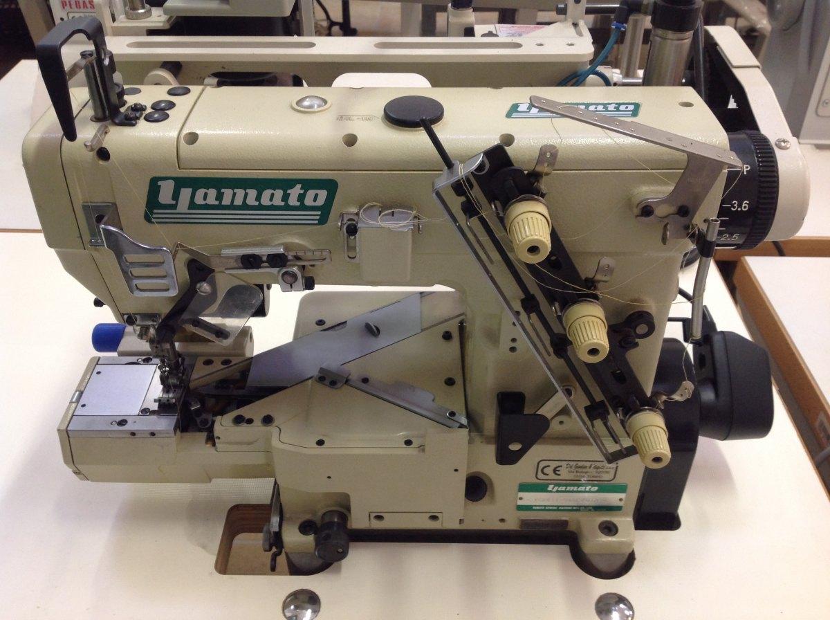 Yamato macchina per cucire a 2 aghi vc2611 048l del for Macchina da cucire e ricamo