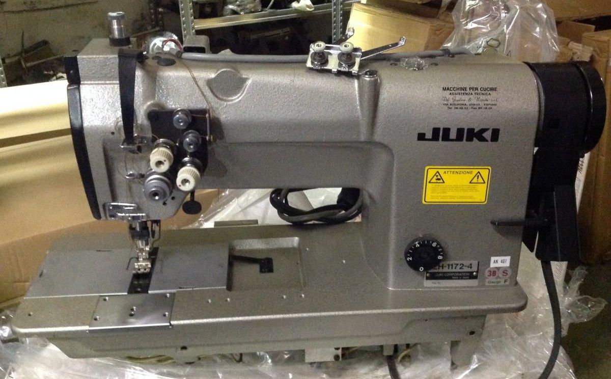 Juki macchina per cucire due aghi lh1172sf 43b del for Aghi macchina da cucire