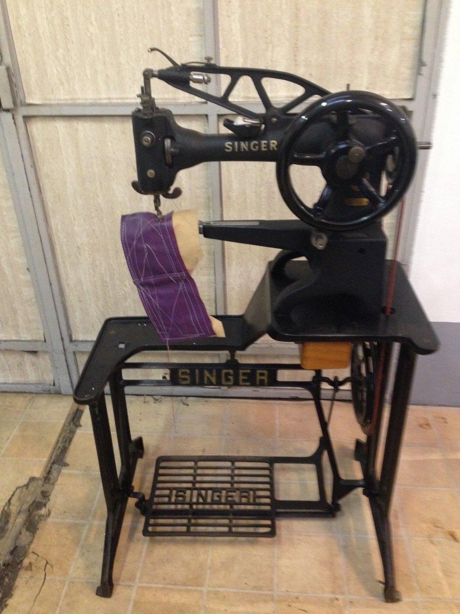 usato singer macchina per cucire 29k51 da calzolaio