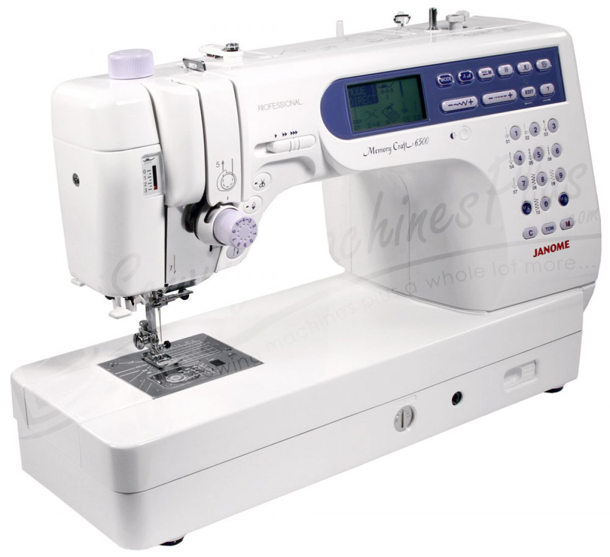 Janome macchina per cucire e ricamo mc6500p del for Macchina da cucire e ricamo
