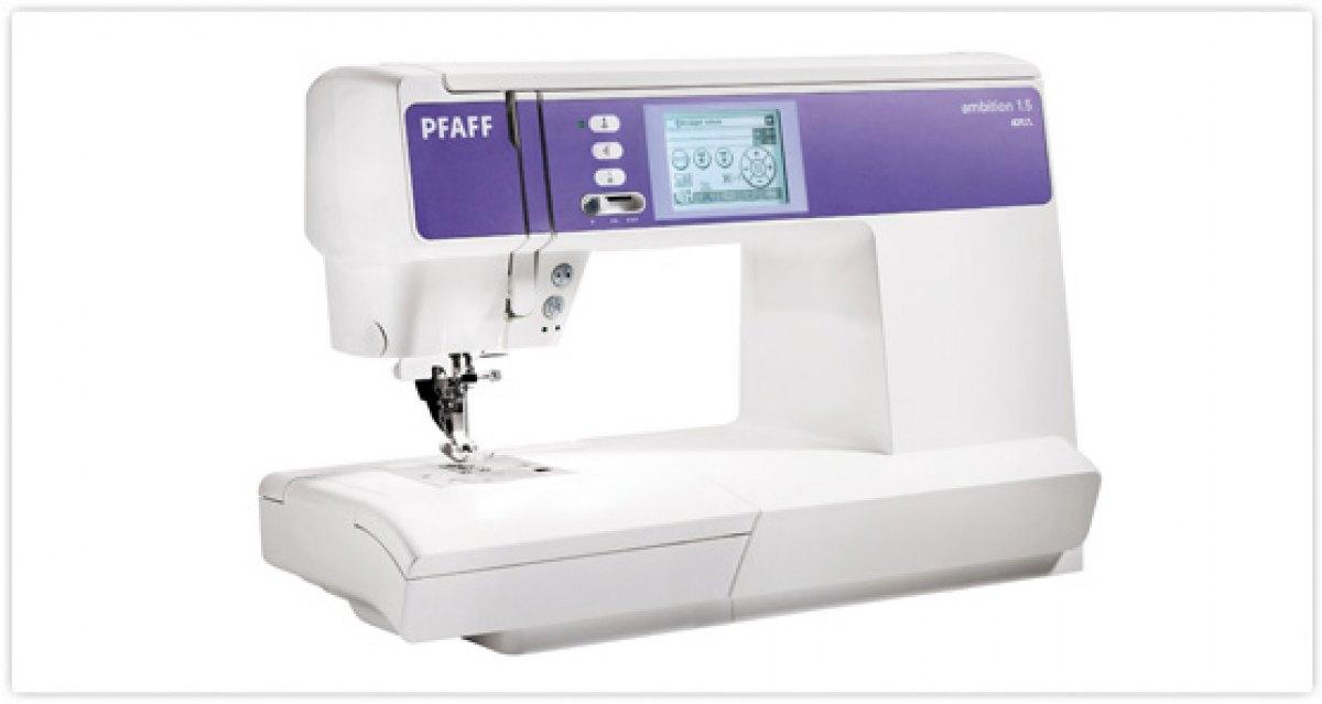 Pfaff macchina per cucire pfaff ambition 1 5 del for Pfaff macchine per cucire
