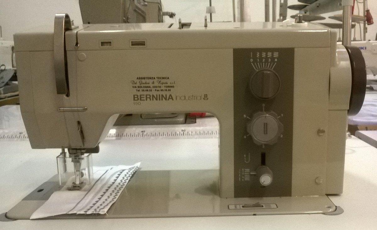 Bernina macchina per cucire bernina 950 del giudice e for Trony macchine da cucire