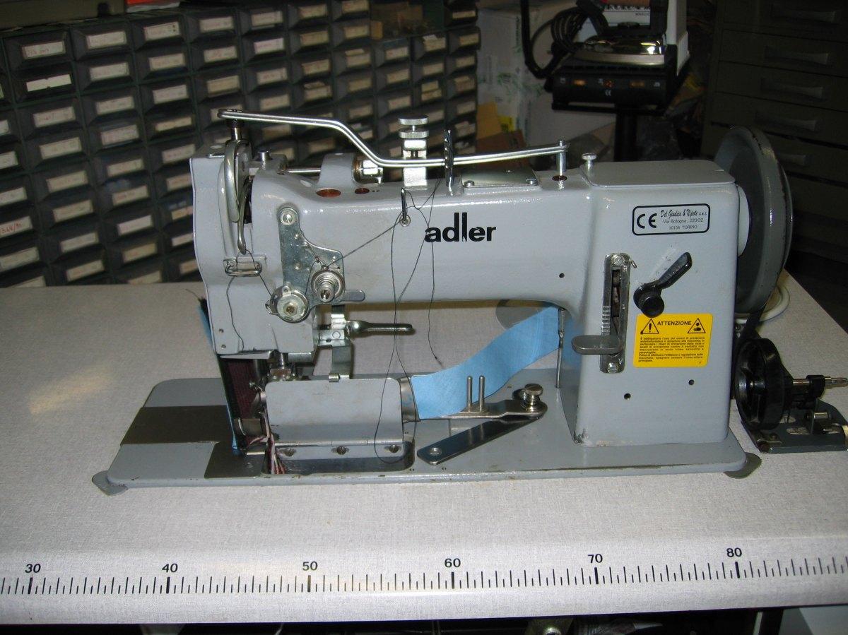 Usato adler macchina per cucire 167ae73e36 triplice for Trony macchine da cucire