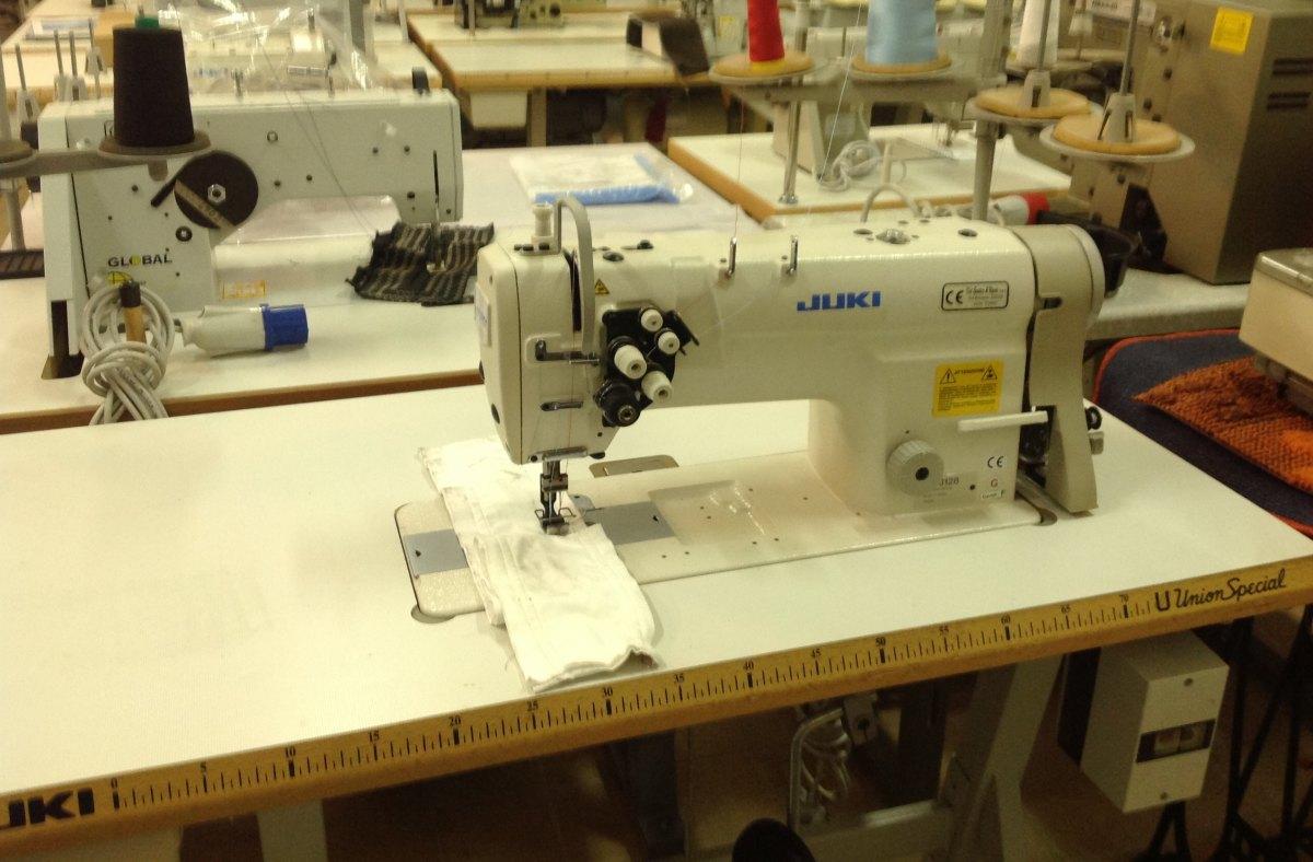 usato juki macchina per cucire lh3128 2 aghi del
