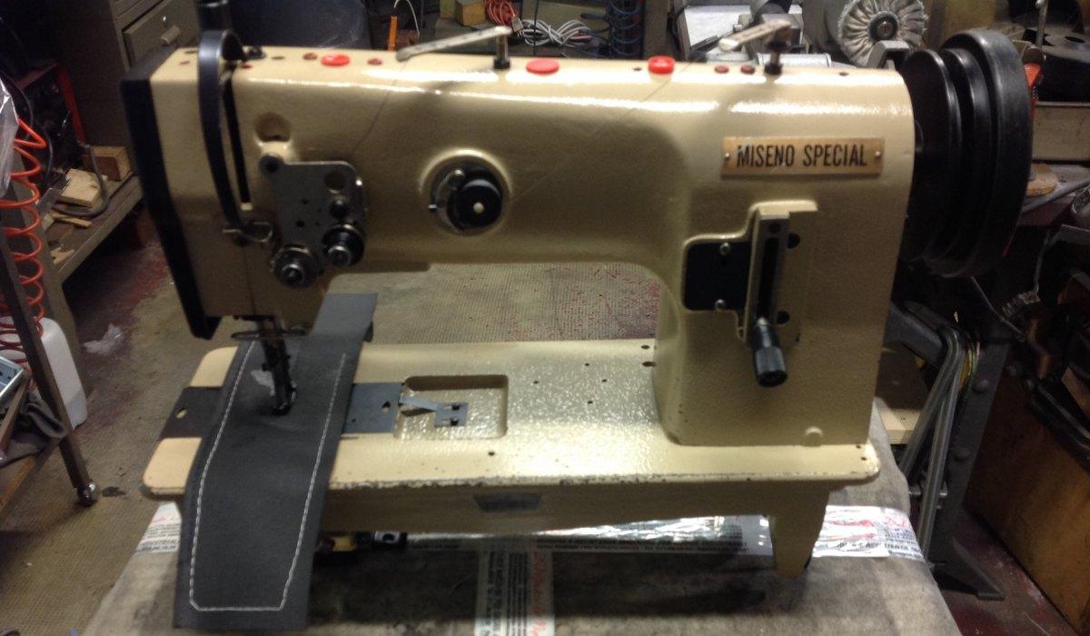 Usato miseno macchina miseno special triplice trasporto for Macchina da cucire salmoiraghi 133
