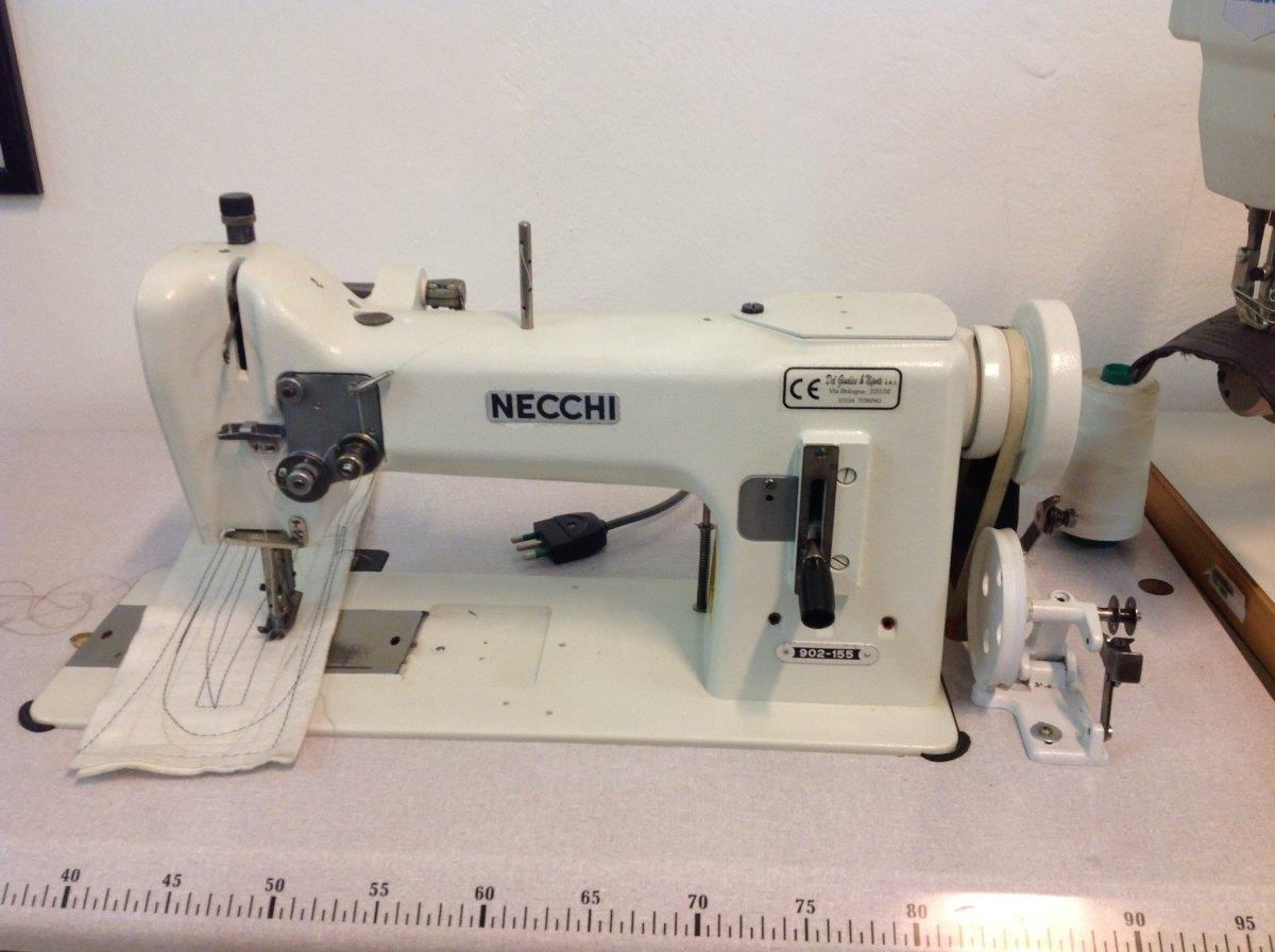 Usato necchi macchina per cucire 902 155 ad 1 ago for Prezzi macchine da cucire