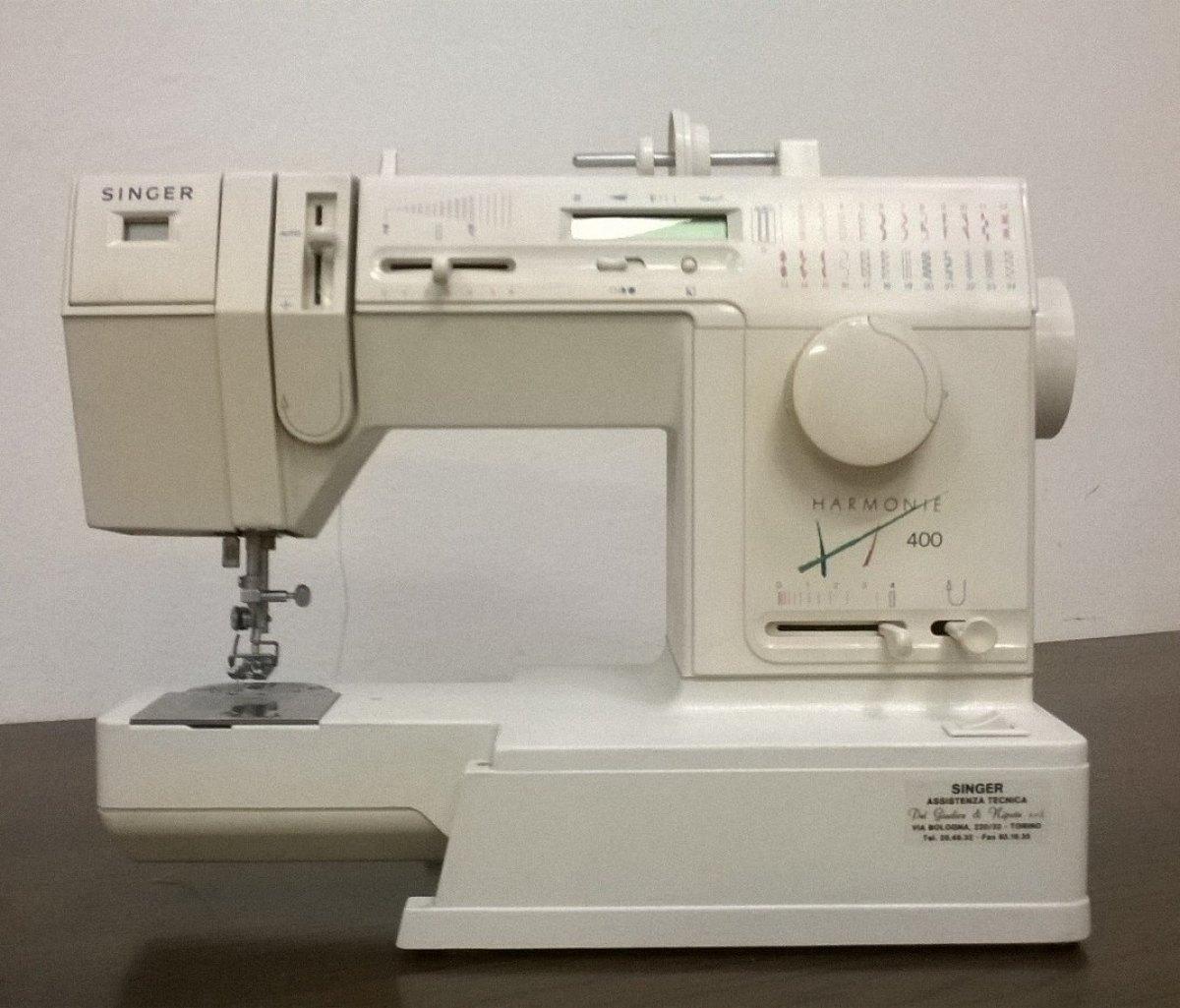 Singer macchina per cucire singer 9143 harmonie 400 for Macchina da cucire e ricamo