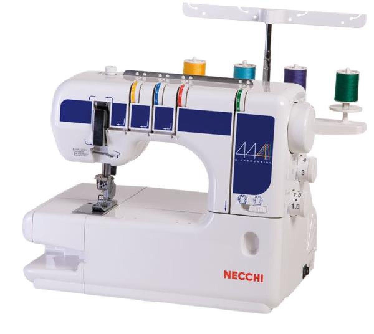 Necchi macchina per cucire necchi 444 del giudice e nipote for Macchine da cucire usate