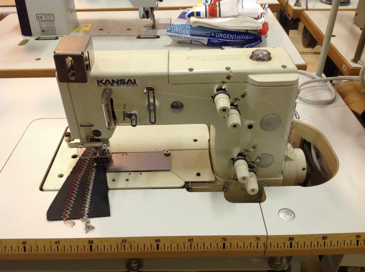 Kansai macchina per cucire 2 aghi crocchetta 302 5w for Aghi macchina da cucire