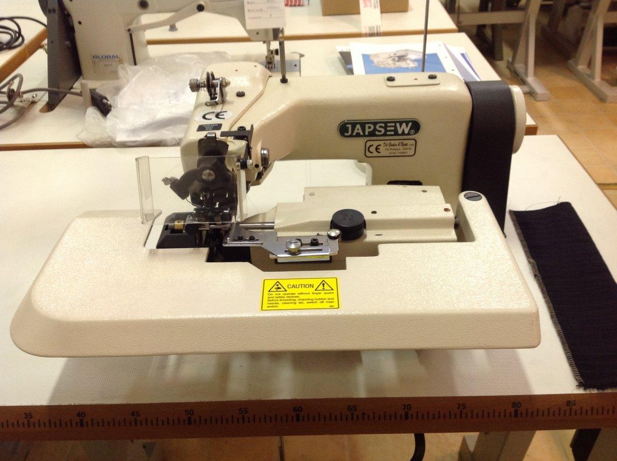 Japsew macchina punto invisibile japsew 252 del for Macchina da cucire e ricamo