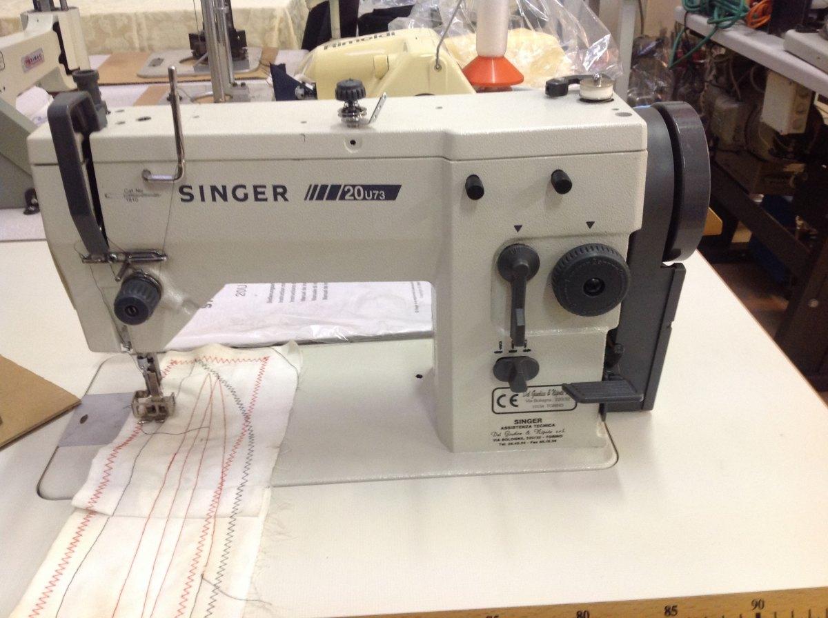Singer macchina per cucire 20u73 professionale for Prezzi macchine singer