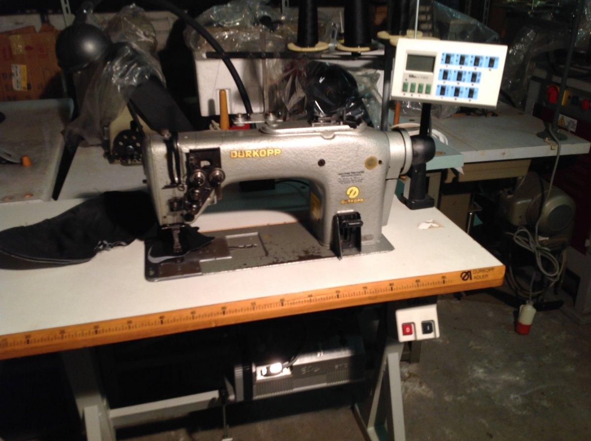 Usato durkopp macchina per cucire 2 aghi 244 115555 for Aghi macchina da cucire