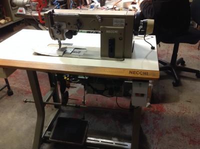 Usato necchi macchina per cucire 958 561 ad 1 ago for Macchine per cucire necchi prezzi